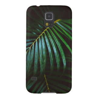 Tropical Palm Leaf Calming Green, Meditative Case For Galaxy S5