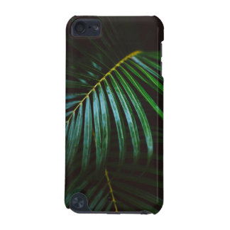 Tropical Palm Leaf Calming Green, Meditative iPod Touch (5th Generation) Cases