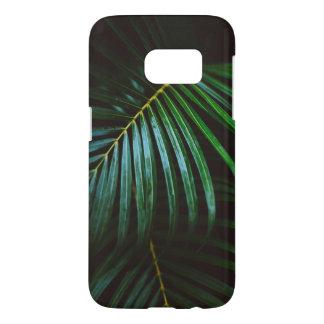 Tropical Palm Leaf Calming Green, Meditative Samsung Galaxy S7 Case
