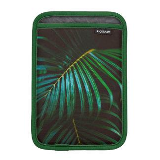 Tropical Palm Leaf Relaxing Green Calming iPad Mini Sleeve