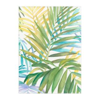 Tropical Palm Leaves Acrylic Print