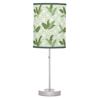 Tropical Palm Leaves Desk Lamps