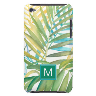 Tropical Palm Leaves iPod Case-Mate Case