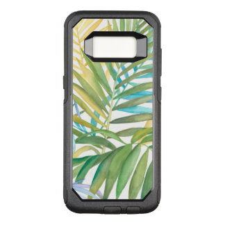 Tropical Palm Leaves OtterBox Commuter Samsung Galaxy S8 Case