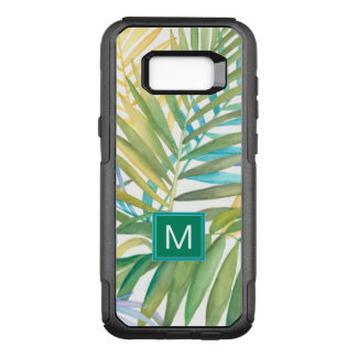 Tropical Palm Leaves OtterBox Commuter Samsung Galaxy S8+ Case