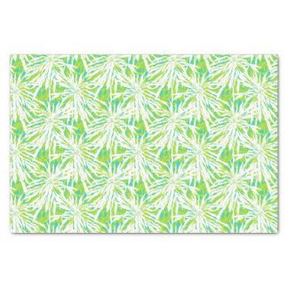 Tropical Palm Leaves Pattern Tissue Paper