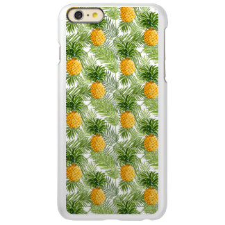 Tropical Palm Leaves & Pineapples