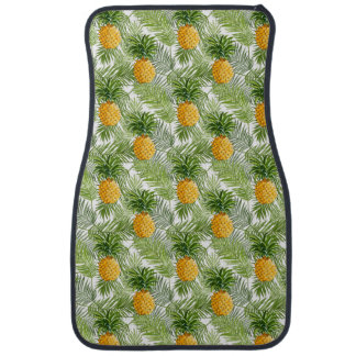 Tropical Palm Leaves & Pineapples Auto Mat