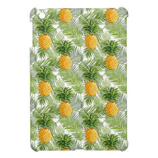 Tropical Palm Leaves & Pineapples Case For The iPad Mini