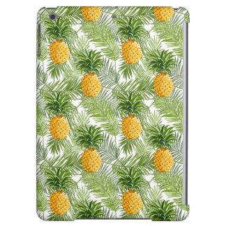 Tropical Palm Leaves & Pineapples iPad Air Cover