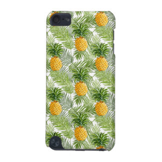 Tropical Palm Leaves & Pineapples iPod Touch (5th Generation) Case