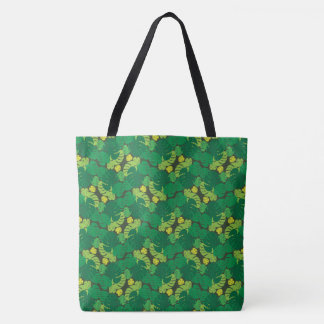 Tropical Palm Leaves Tote Bag