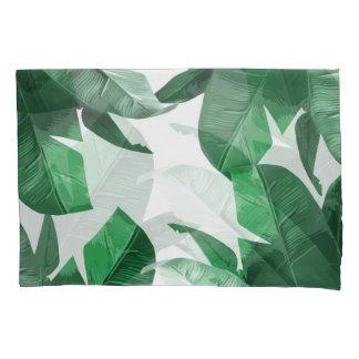 Tropical Palm Print Pillow Cases Pillowcase