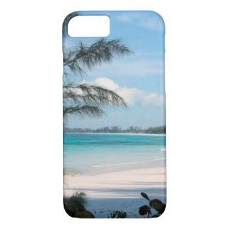 Tropical Palm Tree and Ocean Cell Phone Case