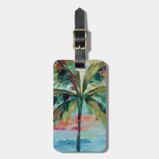 Tropical | Palm Tree Bag Tag