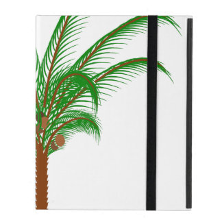 Tropical Palm Tree iPad Folio Case