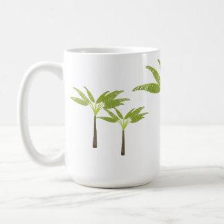 Tropical Palm Tree Island Beach Theme Simple Coffee Mug