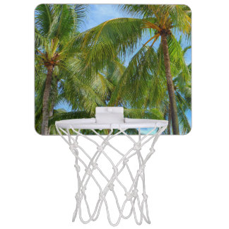 Tropical Palm Tree Mini Basketball Hoop