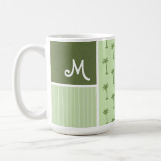 Tropical Palm Tree Pattern Coffee Mug