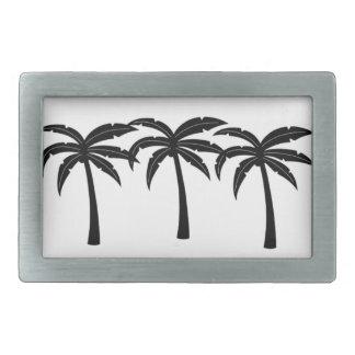 Tropical Palm Trees Belt Buckle