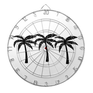 Tropical Palm Trees Dartboard