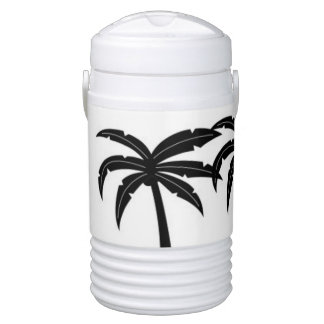 Tropical Palm Trees Drinks Cooler