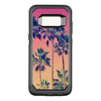 Tropical Palm Trees Girly OtterBox Commuter Samsung Galaxy S8 Case