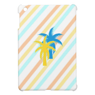 tropical palm trees iPad mini cover