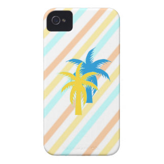 tropical palm trees iPhone 4 cover