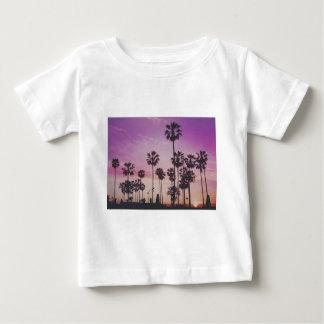 Tropical Palm Trees Miami Los Angeles Venice Baby T-Shirt