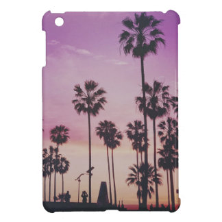 Tropical Palm Trees Miami Los Angeles Venice iPad Mini Cover