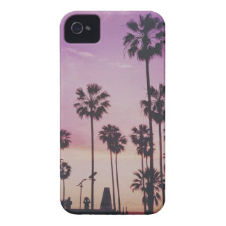 Tropical Palm Trees Miami Los Angeles Venice iPhone 4 Case-Mate Cases