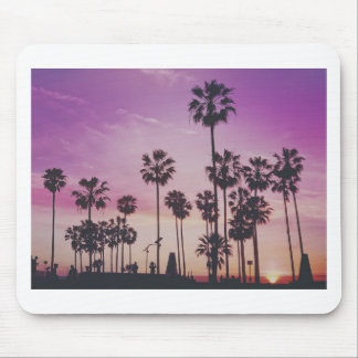Tropical Palm Trees Miami Los Angeles Venice Mouse Pad