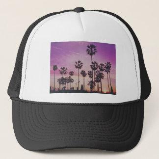 Tropical Palm Trees Miami Los Angeles Venice Trucker Hat