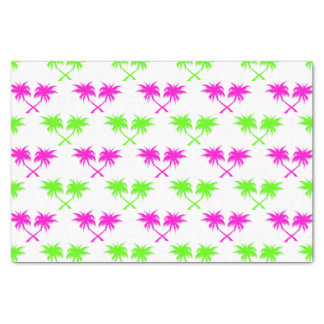 Tropical Palm Trees Pattern Tissue Paper
