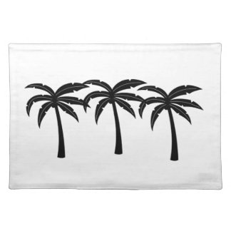 Tropical Palm Trees Placemat