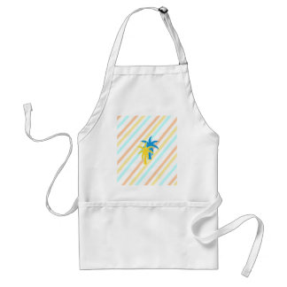 tropical palm trees standard apron