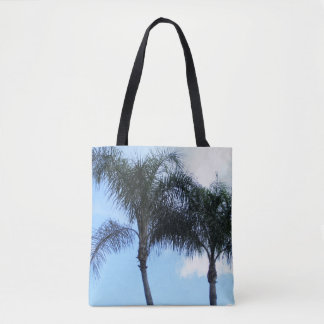Tropical Palm Trees Tote Bag