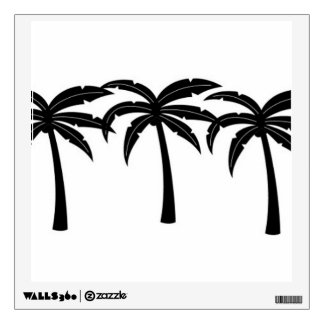 Tropical Palm Trees Wall Sticker