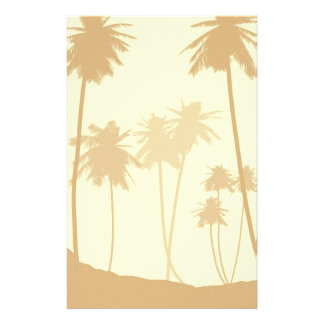 Tropical Palm Trees Wedding Stationery