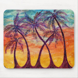 Tropical Palms - Mouse Pad