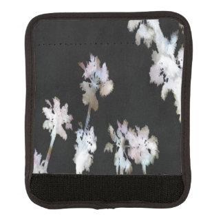 Tropical Palms Negative Luggage Handle Wrap