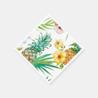 Tropical Paper Napkins