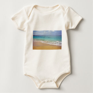 tropical paradise baby bodysuit
