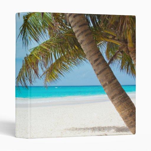 Tropical Paradise Beach Binder