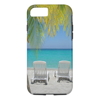 Tropical paradise beach in the Caribbean iPhone 8/7 Case