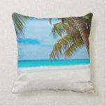 Tropical Paradise Beach Pillow