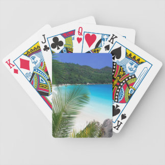 Tropical Paradise Beach Playing Cards