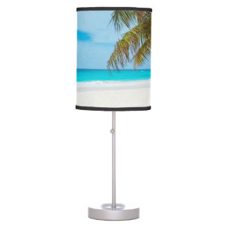 Tropical Paradise Beach Table Lamps
