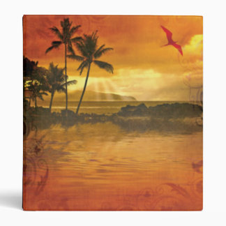 Tropical Paradise Binder
